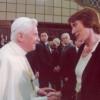 Susan Fischer zu Besuch im Vatikan