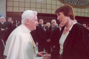 Susan Fischer Papst Benedikt