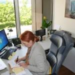 Rundgang Arbeitszimmer Susan Fischer