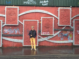 Lady Susan Belfast Murals Irlandreise